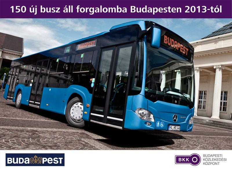 Mercedes Citaro busz (bkv-busz, )