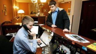 Recepció (recepció, recepciós, telefon, hotel, )