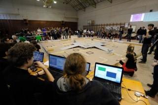 Robotok versenye Szegeden (Robotok versenye Szegeden)