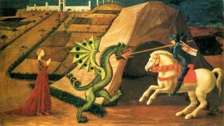Szent György és a sárkány (sárkány,)