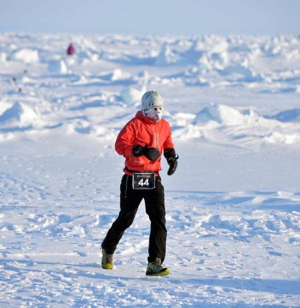 The north pole marathon (the north pole marathon)