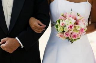 esküvő (esküvő, csokor)