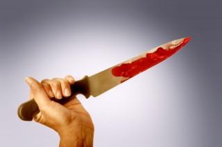kés (kés, véres)