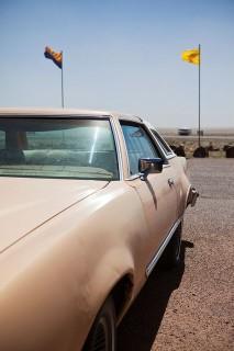 kocsi a napon (kocsi, autó, napsütés)