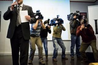 média (újsgíró, fotós, operatőr, )