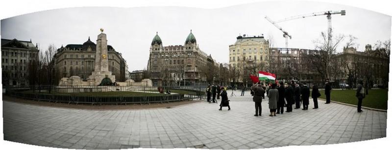 szabadség tér - megemlékezés (szabadság tér, szovjet emlékmű)