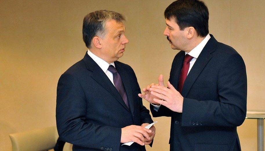Áder és Orbán (áder jános, orbán viktor)