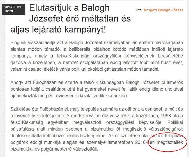 Balogh blog (balogh józsef, )