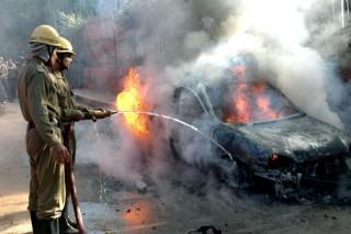 Lángoló autó (lángoló autó)