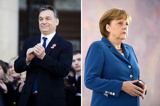 Orbán, Merkel (Orbán, Merkel)