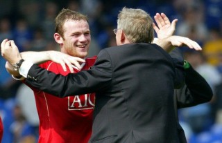 Sir Alex Ferguson, Wayne Rooney (sir alex ferguson, wayne rooney, )