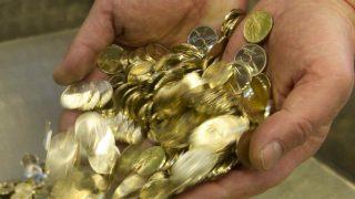 aprópénz (pénz, öt forint,)
