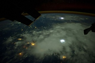iss, nemzetközi űrállomás (űrfelvétel, )