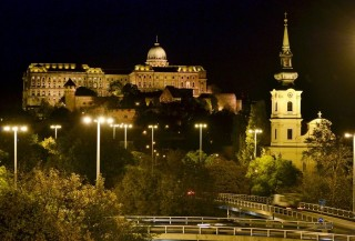 közvilágítás Budapesten (budapest, közvilágítás, )