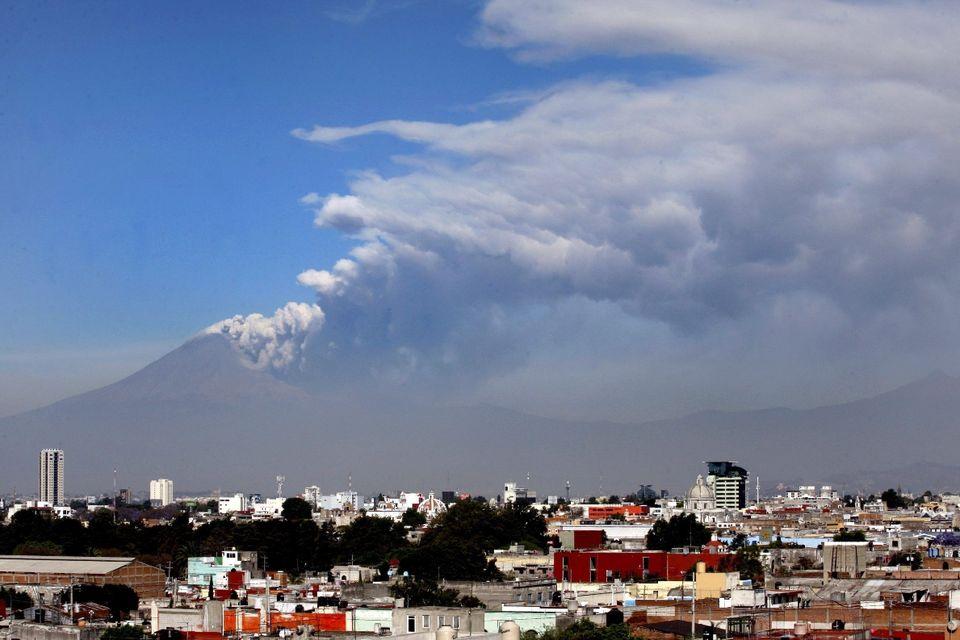 popocatépetl vulkán (popocatepetl, vulkán)