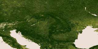 A Föld vegetációja (nnvl.noaa.gov)