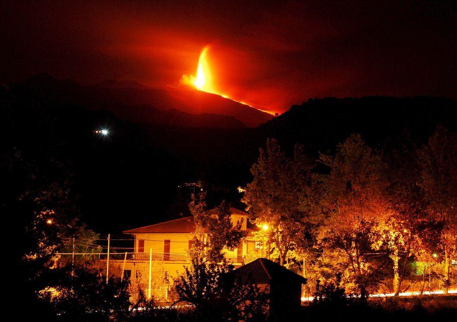 Etna (etna, vulkán, )