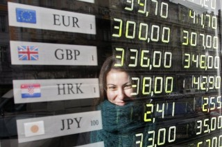 Euró forint árfolyam (Valuta, Deviza, Árfolyam, Euro, Forint)