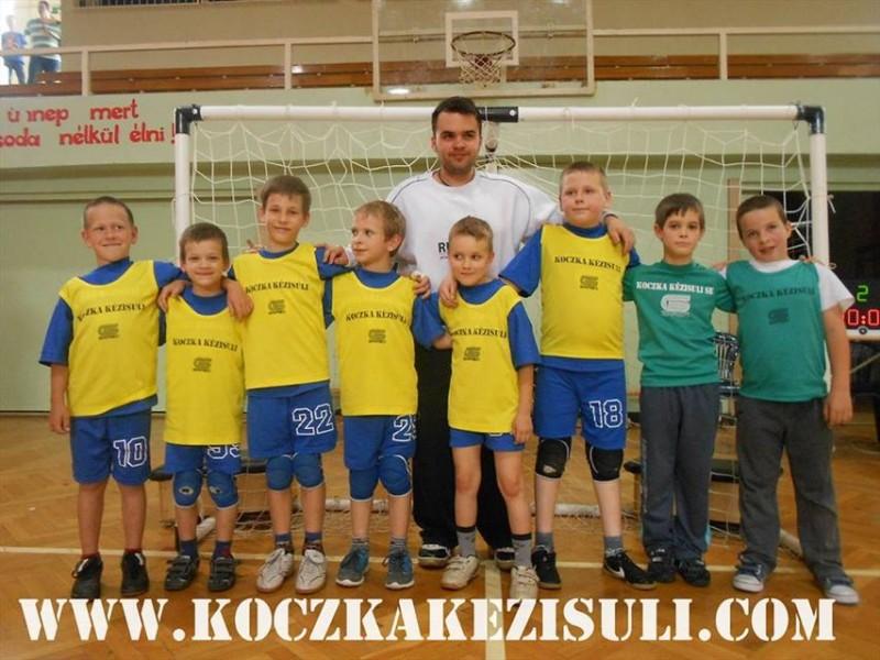 Koczka Kézisuli U7-es fiú csapata (kézialbda, utánpótlás, hódmezővásárhely, )
