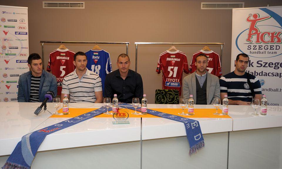 Pick Szeged új játékosai (Pick Szeged új játékosai)