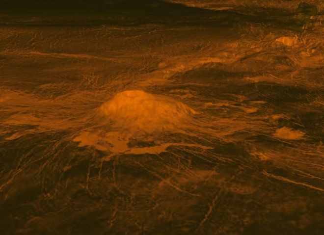 Vulkán a Vénuszon (vénusz, vulkán, )