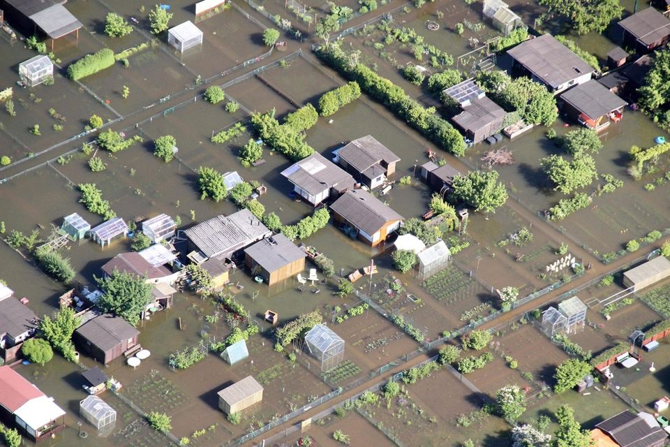 áradás németországban (áradás, árvíz, németország, )