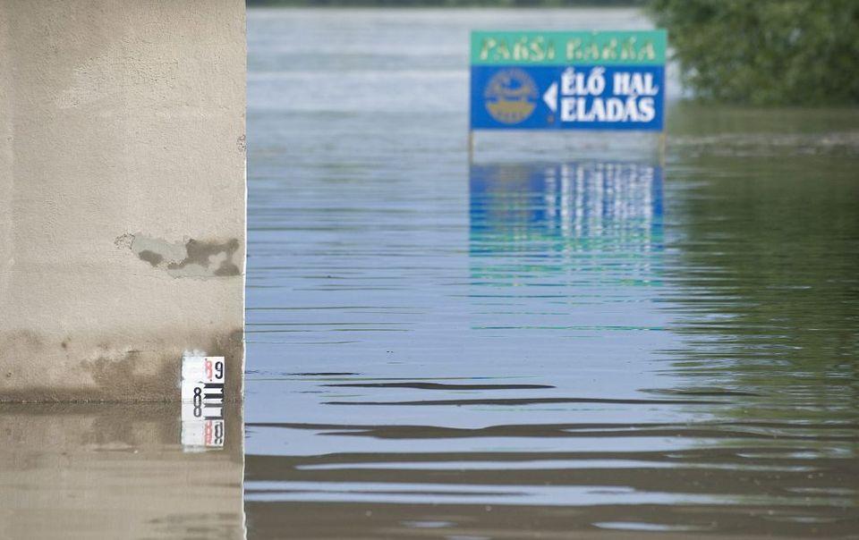 áradás paksnál (árvíz 2013, paks, )