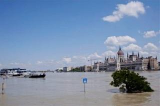 árvíz, budai alsó rakpart, parlament (árvíz, )