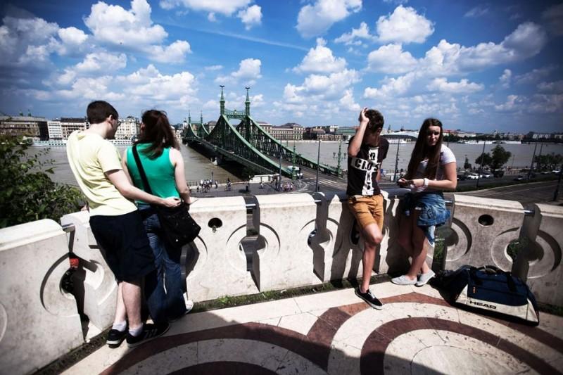 árvíz budapest (árvíz, szabadság híd)