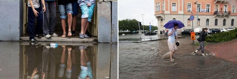 árvíz - esőzés (felhószakadás, árvíz)