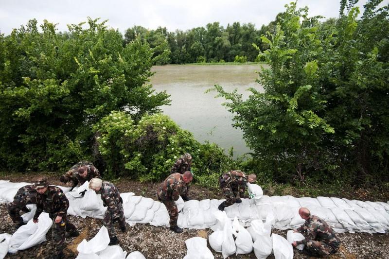 árvízi védekezés (árvízi védekezés, )