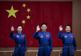 kínai űrhajósok (kína, űrhajó, sencsou-10, )