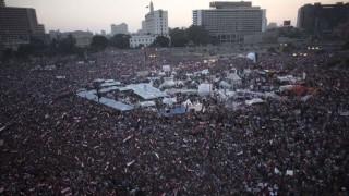 tüntetés kairóban (tüntetés, kairó, egyiptom, )