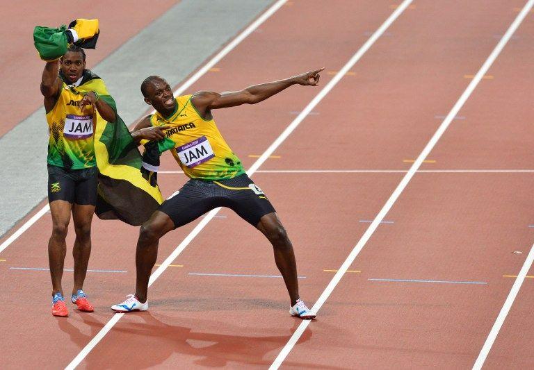 Usain Bolt (usain bolt, yohan blake, )