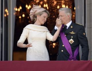 belga királyi pár (fülöp király, belgium, )