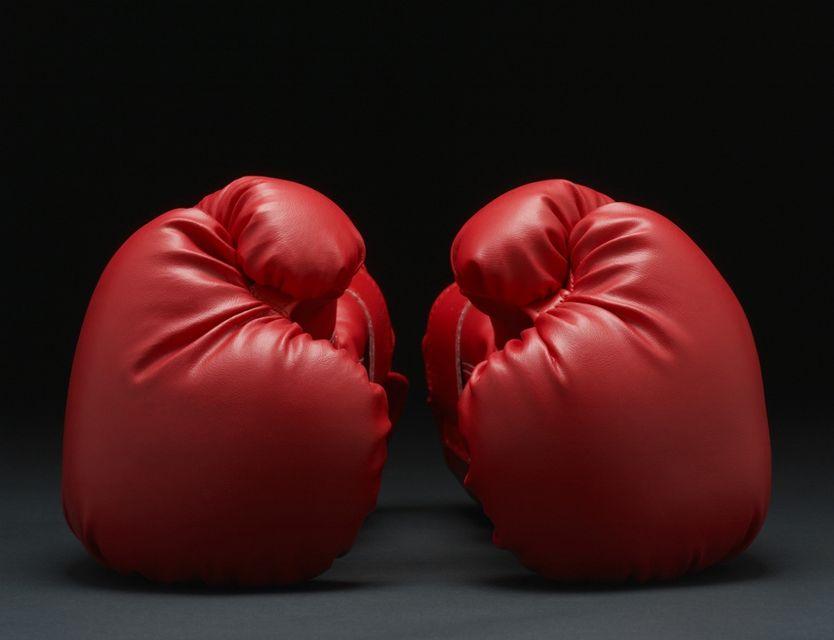 bokszkesztyű (bokszkesztyű, ökölvívás, )