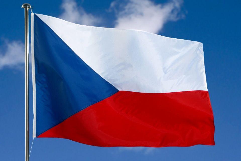 cseh zászló (cseh zászló, )