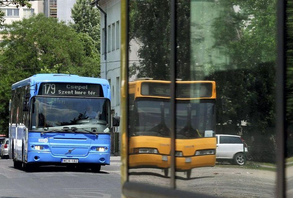 használt volvo busz (volvo, bkk, busz)