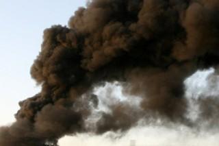 robbanás füst (füst, )