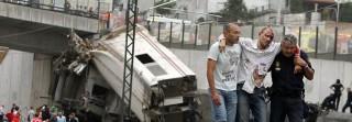 spanyolországi vonatbaleset (vonatszerencsétlenség)