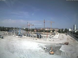 új albert stadion építés alatt (albert stadion)