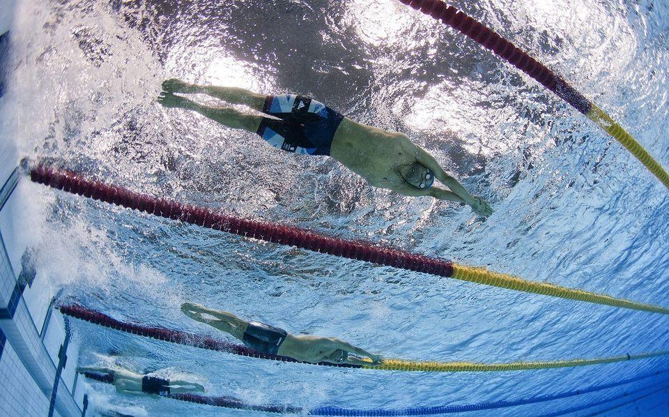 úszás (medence, )