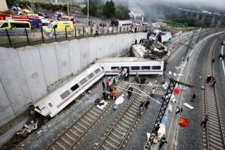 vonatbaleset Spanyolországban (vonatbaleset, )