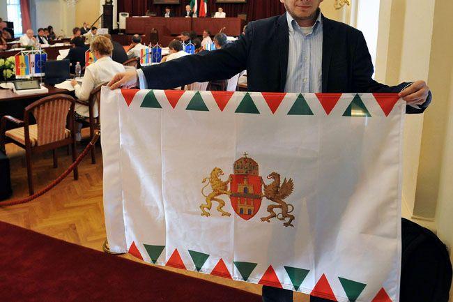 Budapest zászlaja (budapest zászló)