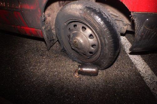 Felgyújtott autó Szentesen (Felgyújtott autó Szentesen)