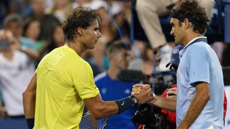 Nadal, Federer (nadal, federer, )