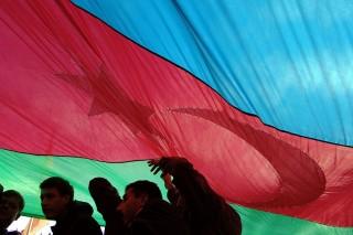 azerbajdzsán zászló (azerbajdzsán, )