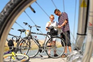 biciklizés (kerékpár, )