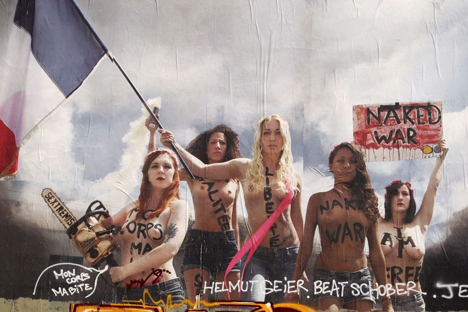 femen plakát (femen, )