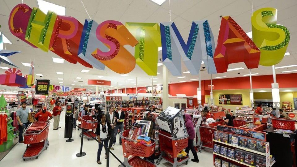 karácsonyi vásárlás (karácsony, vásárlás, )